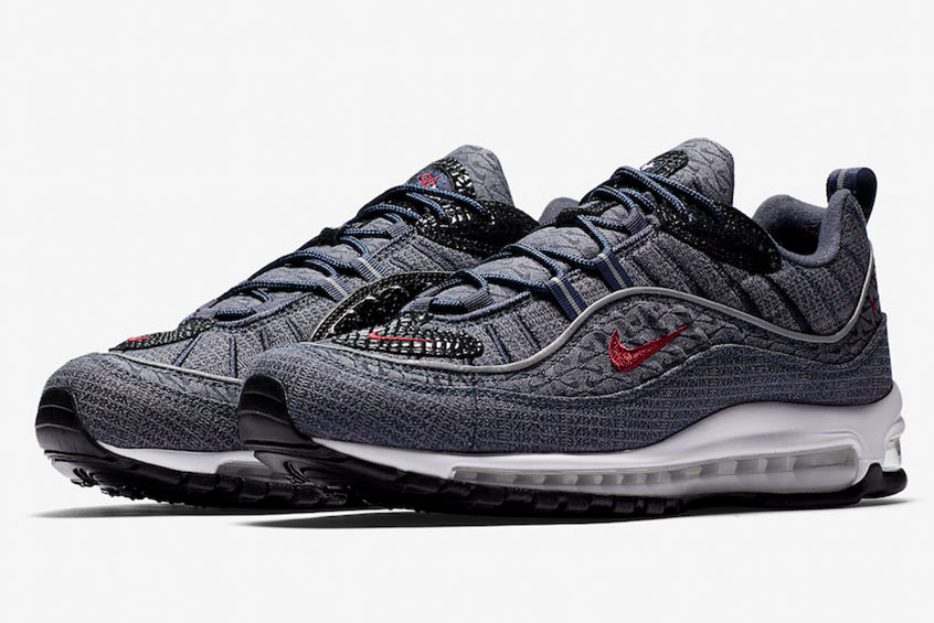 Release | Nike Air Max 98 Thunder Blue | oneMesh
