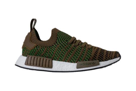 adidas NMD R1 Primeknit STLT Trace Olive release