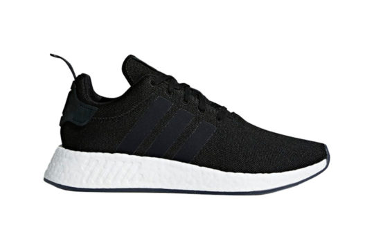 adidas NMD R2 Black White release