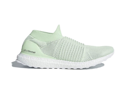 adidas Ultra Boost Laceless Green release