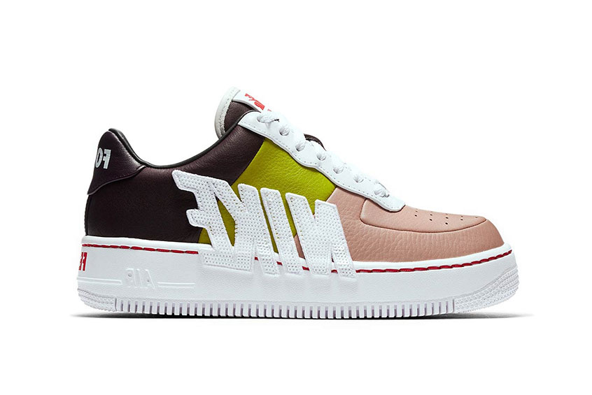 Nike Air Force 1 Upstep Multi Womens release