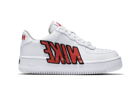 Nike Air Force 1 Upstep White Womens release