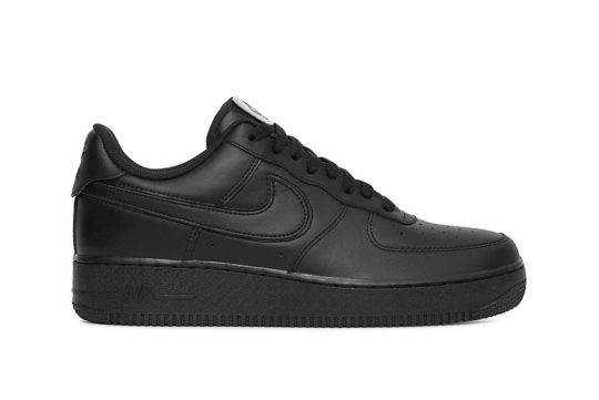 Nike Air Force 1 Velcro Swoosh Pack Black release