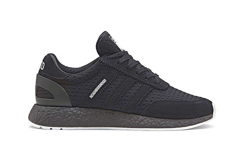 Neighborhood x adidas Iniki Boost Black release