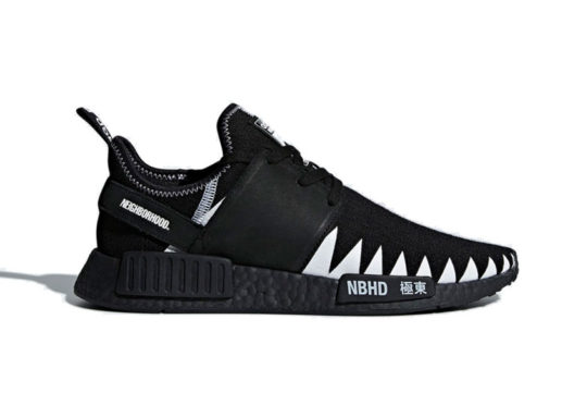 Neighborhood x adidas NMD R1 Black release