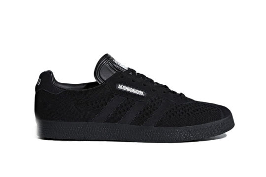 Neighborhood x adidas Super Gazelle Black release