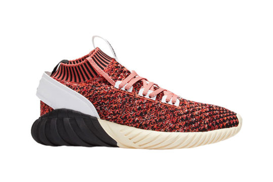 adidas Tubular Doom Sock Primeknit Red Black
