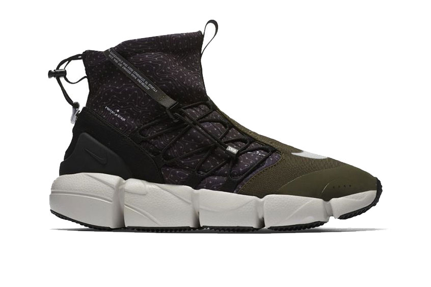 Nike Air Footscape Mid Utility Green release