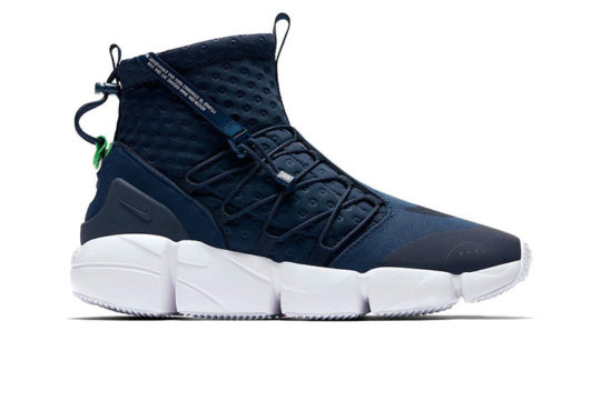 Nike Air Footscape Mid Utility Navy release