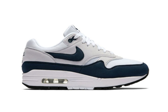 Nike Air Max 1 Navy White Womens