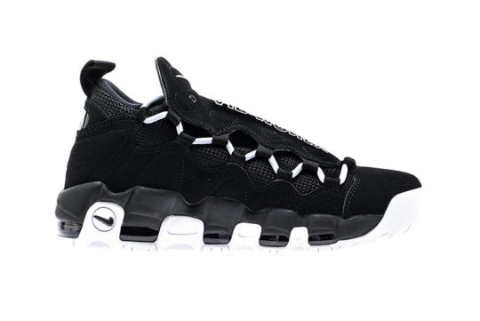 Nike Air More Money Black White release