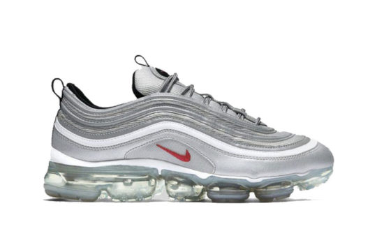 Nike Air VaporMax 97 Silver Bullet release