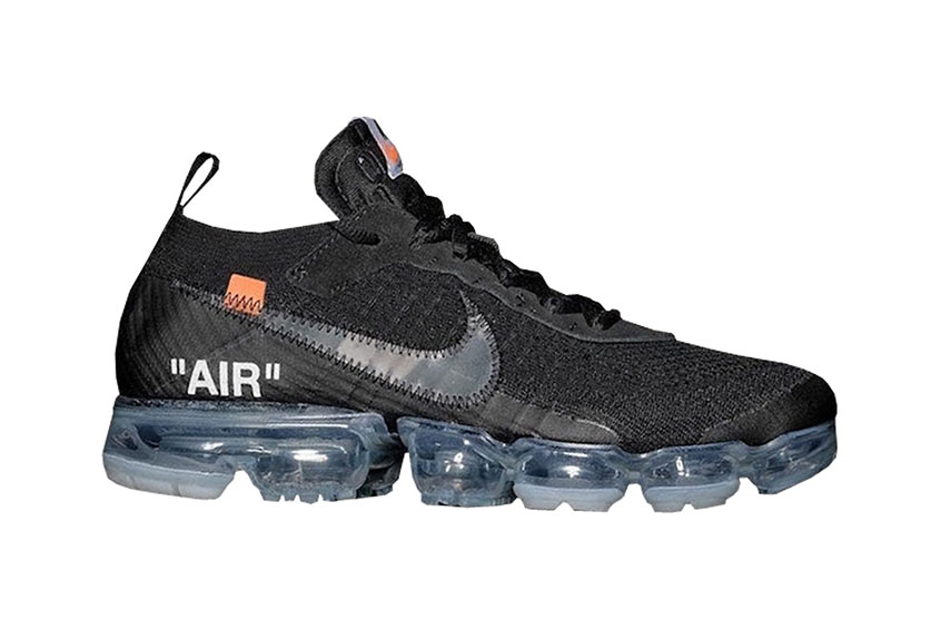 flyknit off white vapormax
