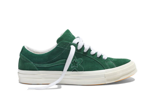 Converse x Golf Le Fleur One Star Green