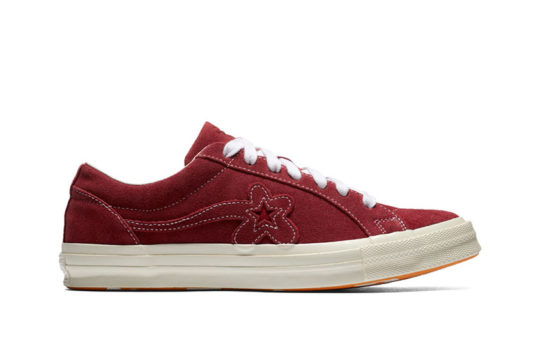 Converse x Golf Le Fleur One Star Red