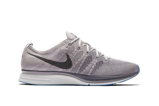 Nike Flyknit Trainer Grey Blue