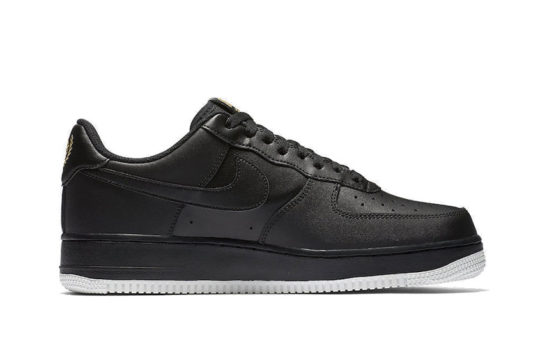 Nike Air Force 1 Low Crest Logo Black