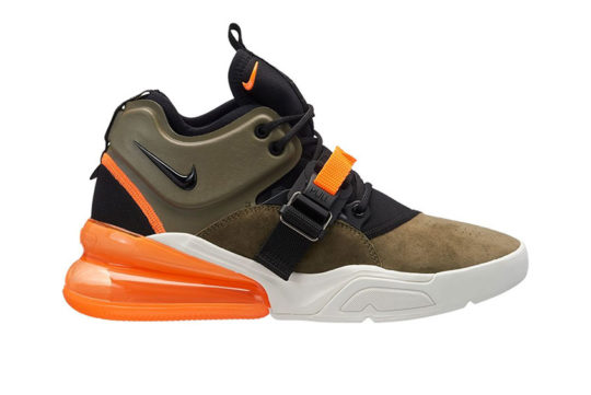 Nike Air Force 270 Olive Orange