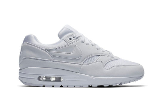 Nike Air Max 1 Triple White Womens