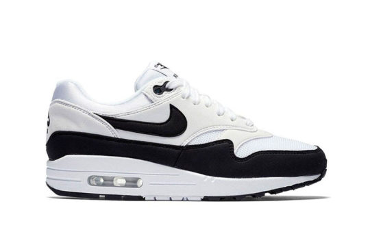 Nike Air Max 1 White Black Womens