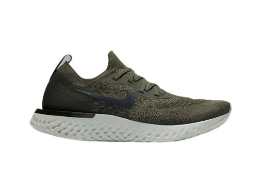 Nike Epic React Flyknit Olive White