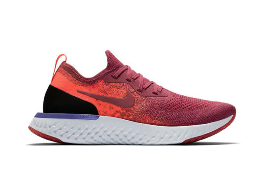 Nike Epic React Flyknit Rust Pink Womens