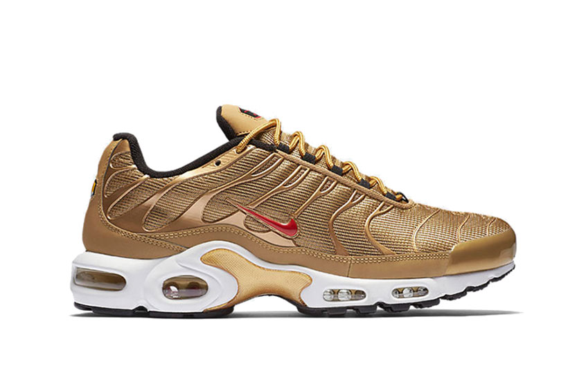 Nike Air Max Plus Metallic Gold Release Date 887092 700