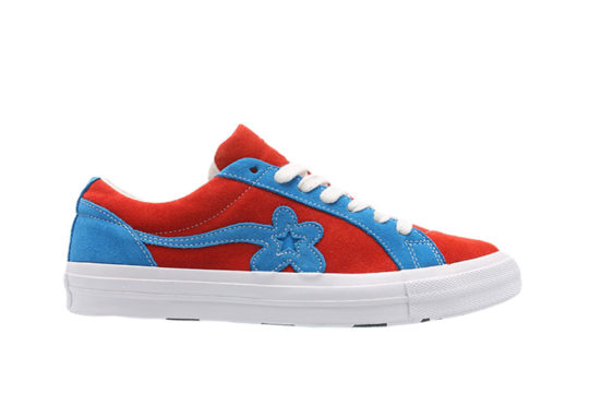 Converse x Golf Le Fleur One Star Lava Blue
