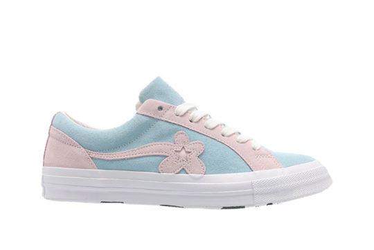 Converse x Golf Le Fleur One Star Pink Blue