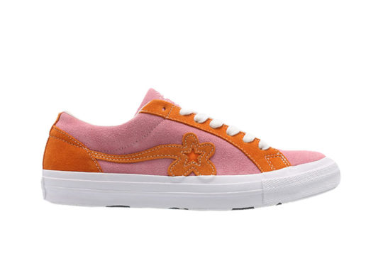 Converse x Golf Le Fleur One Star Pink Orange