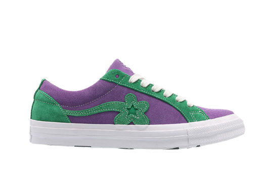 Converse x Golf Le Fleur One Star Purple Green