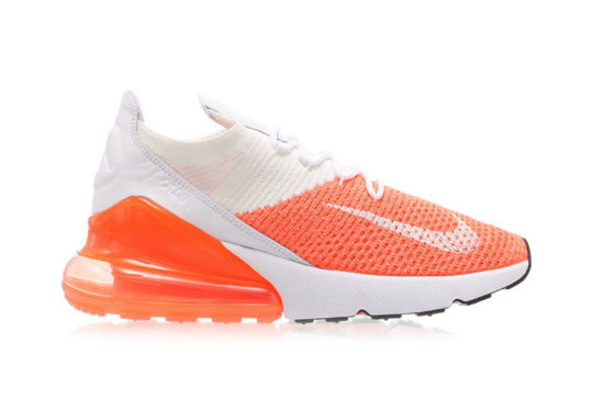 Nike Air Max 270 Flyknit Crimson Pulse Womens