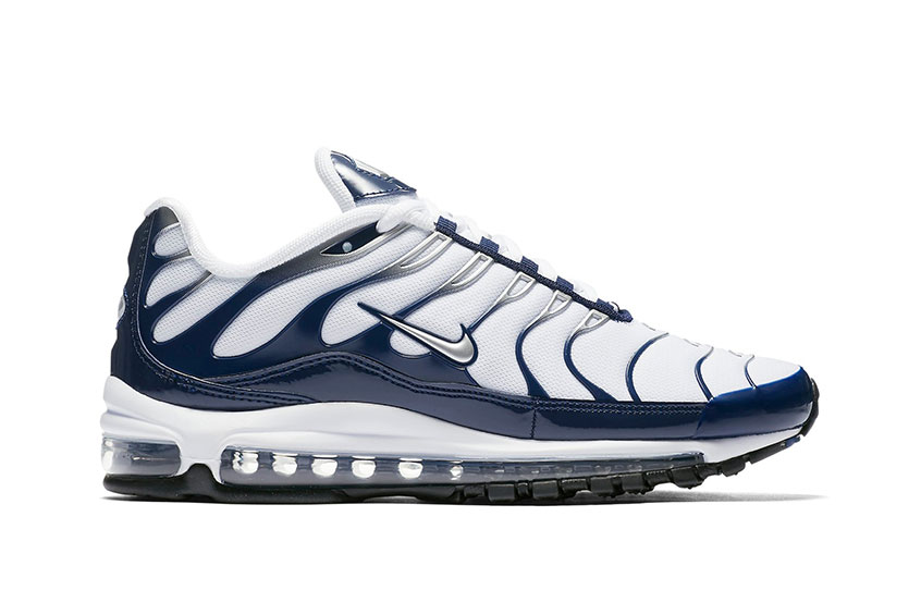 best sneakers 17b05 063e5 Nike Air Max 97 Plus Navy White : Release date, Price & Info