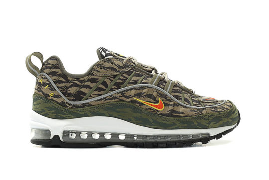 Nike Air Max 98 All Over Print Fractal Olive