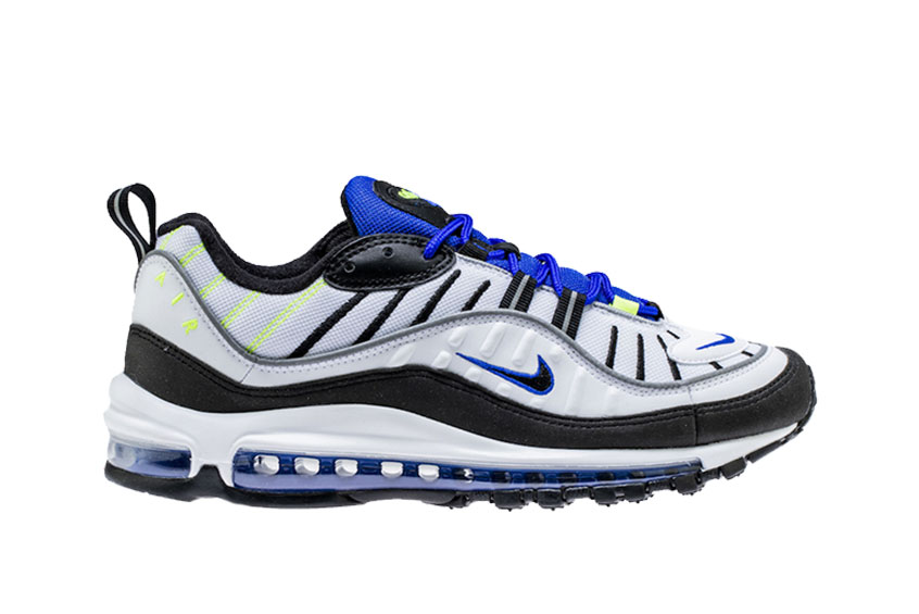 meet 0db9c 2d0a3 Nike Air Max 98 Racer Blue : Release date, Price & Info
