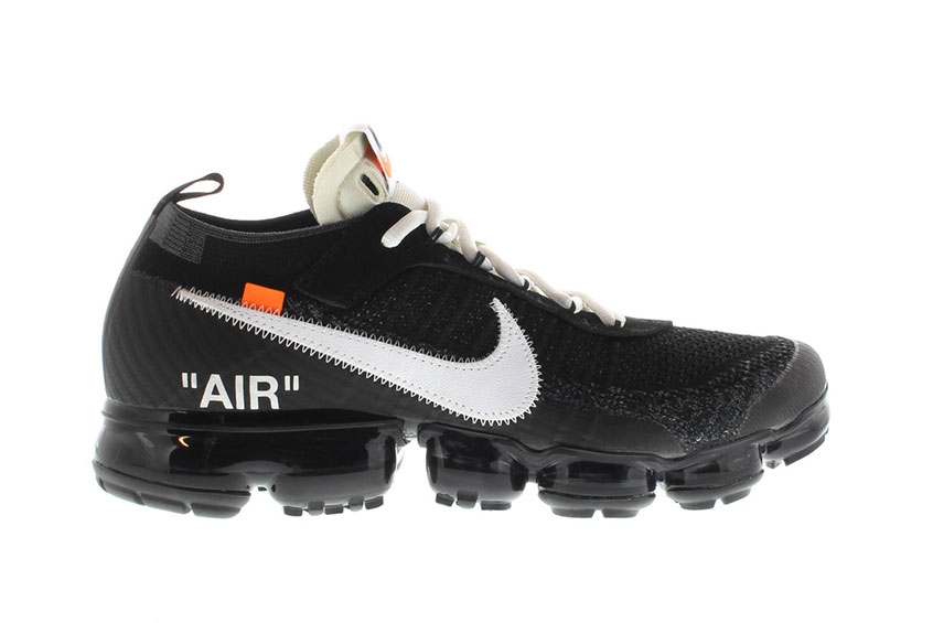 Off-White x Nike Air Vapormax : Release