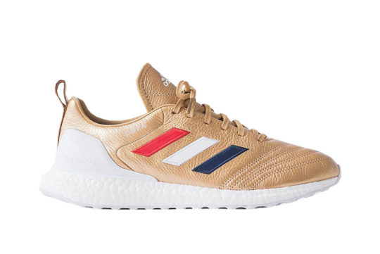 Kith x adidas Copa Mundial 18 Ultra Boost Gold