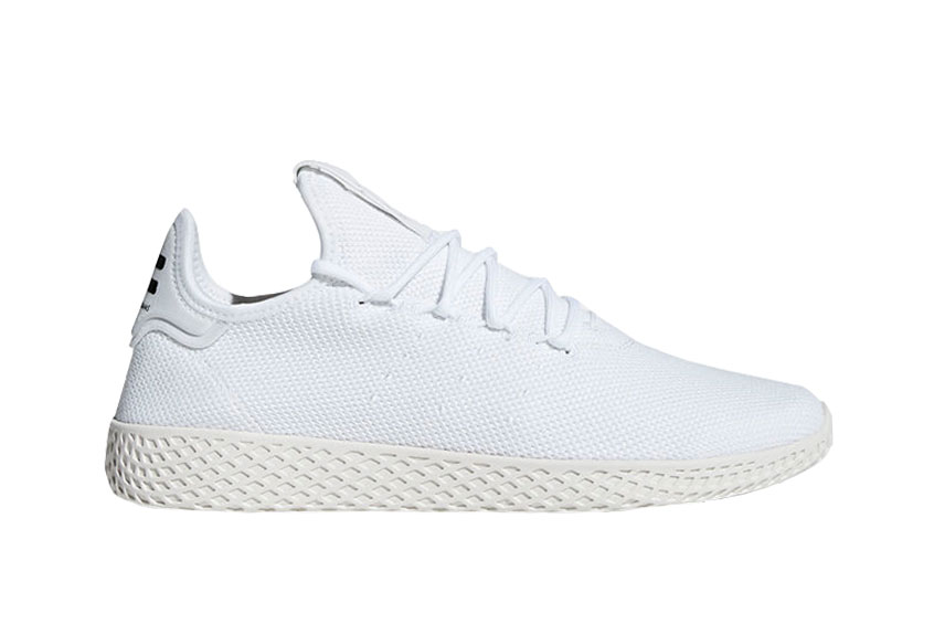 Pharrell x adidas Tennis Hu White
