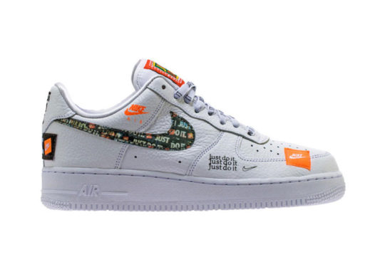 Nike Air Force 1 07 Just Do It Pack White