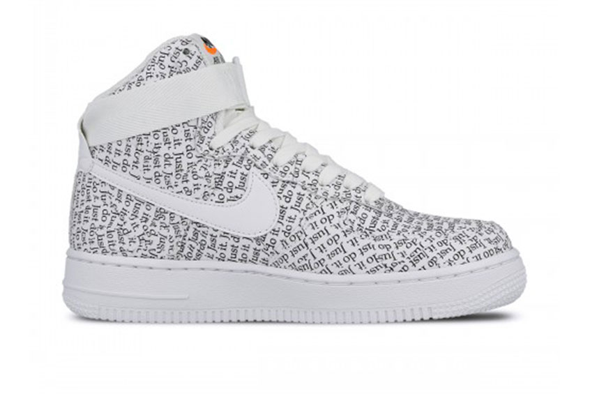 57811634fc19c Nike Air Force 1 High LX Just Do It Pack White Womens   Release date ...