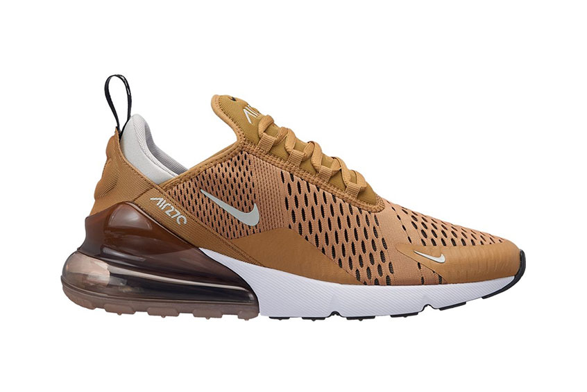 Nike Air Max 270 Elemental Gold : Release date, Price & Info