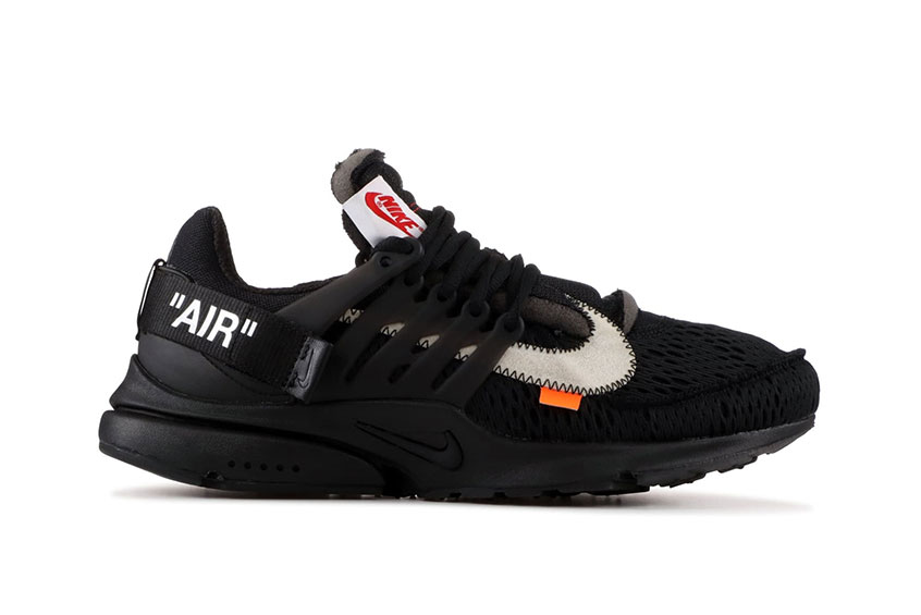 Off White x Nike Air Presto Black : Release date, Price & Info