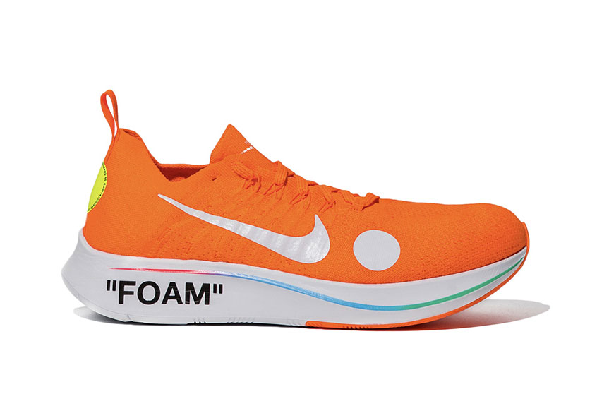 204ff564c1ab Off-White x Nike Zoom Fly Mercurial Flyknit Orange : Release date ...