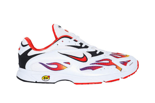 Supreme x Nike Zoom Streak Spectrum Plus White Red