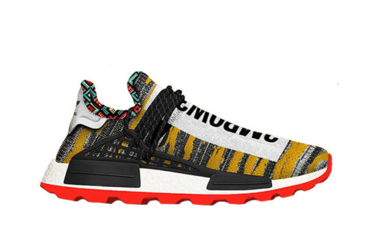 Pharrell x adidas Afro NMD Hu Pack Black Multi