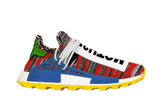 Pharrell x adidas Afro NMD Hu Pack Red Multi