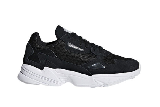 adidas Falcon Black White
