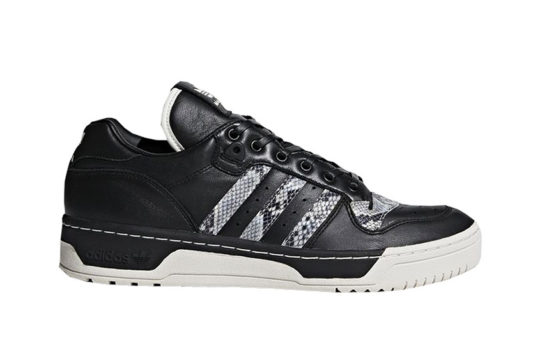 United Arrows And Sons x adidas Rivalry Lo Black