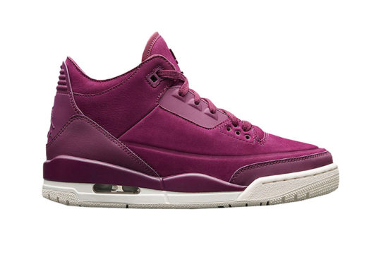Air Jordan 3 Bordeaux Womens