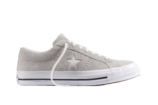 Converse One Star Premium Suede Grey White